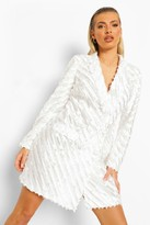 Thumbnail for your product : boohoo Textured Tailored Blazer Dress