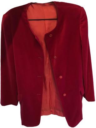 Max & Co. Red Velvet Jacket for Women