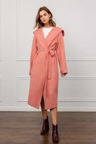 J.ING Royal Coral Hooded Duster