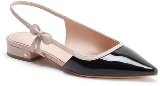 Kate Spade Mae Bow Slingback Pointed Toe Flat