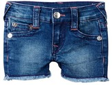 True Religion Single End Short with Flaps (Baby Girls)