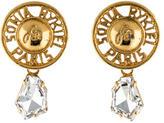 Sonia Rykiel Crystal Drop Earrings