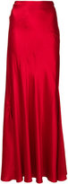 Alberta Ferretti loose fit long skirt