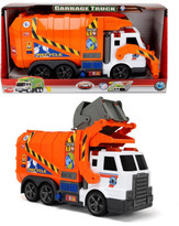 Dickie Toys Light & Sound Garbage Truck