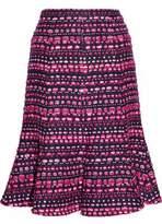 Oscar de la Renta Bouclé Skirt