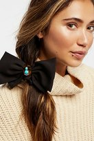 Free People Tort Bow Scrunchie