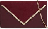 Aldo Varina faux-leather envelope clutch