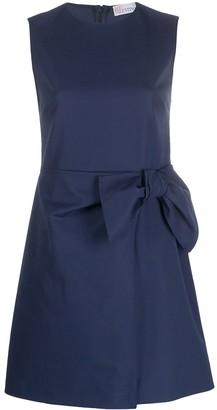 RED Valentino Bow-Embellished Sleeveless Dress