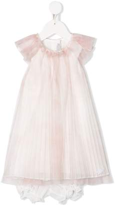 Christian Dior pleated dress set