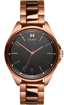 MVMT Women's Coronada Rose Gold-Tone Stainless Steel Bracelet Watch 36mm