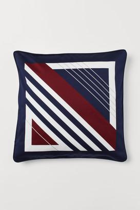 H&M Cotton Satin Cushion Cover