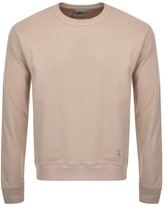 Franklin & Marshall Franklin Marshall Fleece Sweatshirt Jumper Brown