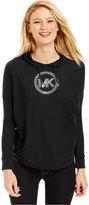 MICHAEL Michael Kors Studded Logo Hoodie