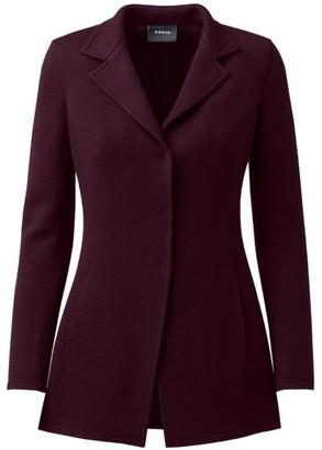 Akris Abigail Cashmere Jersey Jacket