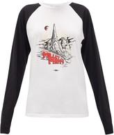 Phipps - X Millet Logo-print Cotton-blend T-shirt - Womens - Black White