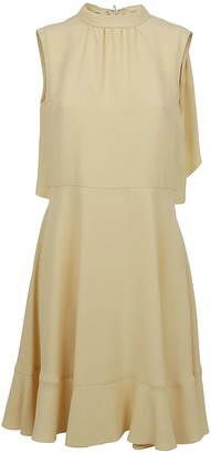 RED Valentino Crepe Dress Envers Satin