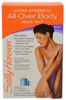 Sally Hansen All Over Body Wax Hair Removal Kit, Net.WT 6oz/170g