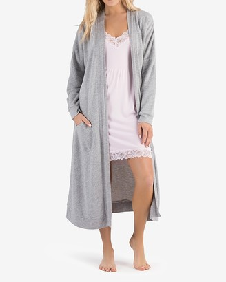 Express Honeydew Intimates Long Sleeve Lounge Cardigan