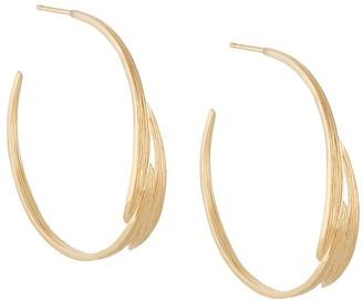 Wouters & Hendrix Engraved Hoop Earrings