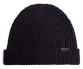 Burberry Waffle-knit wool-blend beanie hat