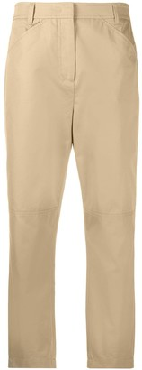 Dorothee Schumacher Cropped Straight-Leg Trousers