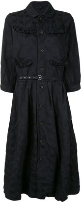 Comme des Garcons Belted Waist Dress