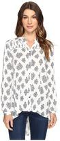 Brigitte Bailey Aspen Long Sleeve Button Up Top