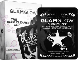 Glamglow GLAMGLOW - BUBBLESHEET Deep Cleanse Sheet Mask Set