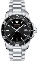 Movado 800 Series Stainless Steel & Aluminum Bracelet Watch