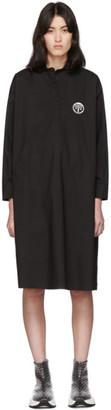 MM6 MAISON MARGIELA Black Kangaroo Pocket Dress