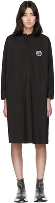 MM6 MAISON MARGIELA Black Kangaroo Pocket Dress