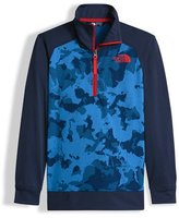 The North Face Kickin' It Camo Pullover Jacket, Blue, Size XXS-L