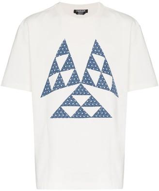 Calvin Klein Triangle Print Cotton T Shirt