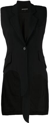 Ann Demeulemeester Sleeveless Blazer Coat