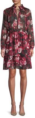 Haute Rogue Floral-Print Shift Dress