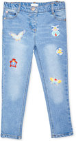 Margherita Kids by Margherita Missoni Patch Cotton Jeans, Toddler & Little Girls (2T-7)