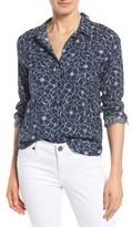 NYDJ Women's Linen & Cotton Shirt