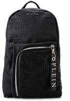 Philipp Plein 'Babel' backpack - men - Leather/rubber - One Size