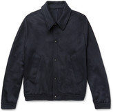 Ami - Slim-fit Wool-blend Felted-twill Jacket