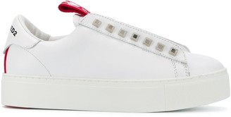 DSQUARED2 Slip-On Trainers With Stud Detailing