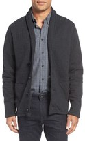 Billy Reid Quilted Shawl Collar Sweater