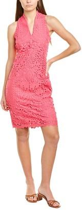 Alexia Admor Karyn Lace V-Neck Sheath Dress