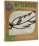 NEW Bubba Blue Feathers Organic Bassinet Knit Blanket