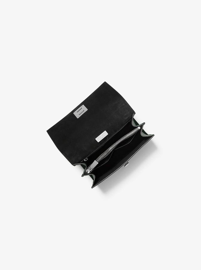 8c5b9ec05bd3 Michael Kors Python Leather Handbags - ShopStyle