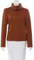 Akris Wool Pattern Jacket
