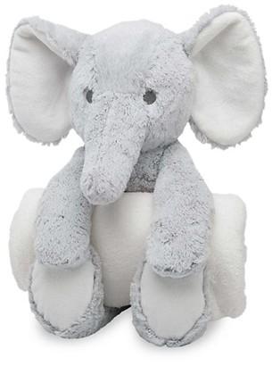Elegant Baby Baby's Plush Elephant Huggie Set