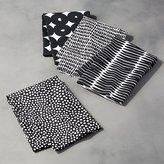 Crate & Barrel Kinzey Dish Towels, Set of 4