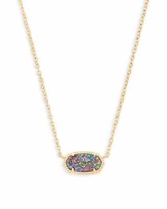 Kendra Scott Elisa Pendant Necklace in Multicolor Drusy
