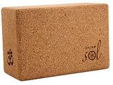 Gaiam Sol Natural Cork Yoga Block 45967