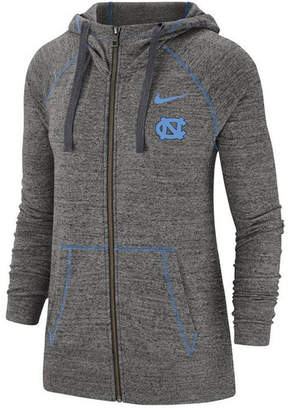 Nike Women North Carolina Tar Heels Gym Vintage Full-Zip Jacket